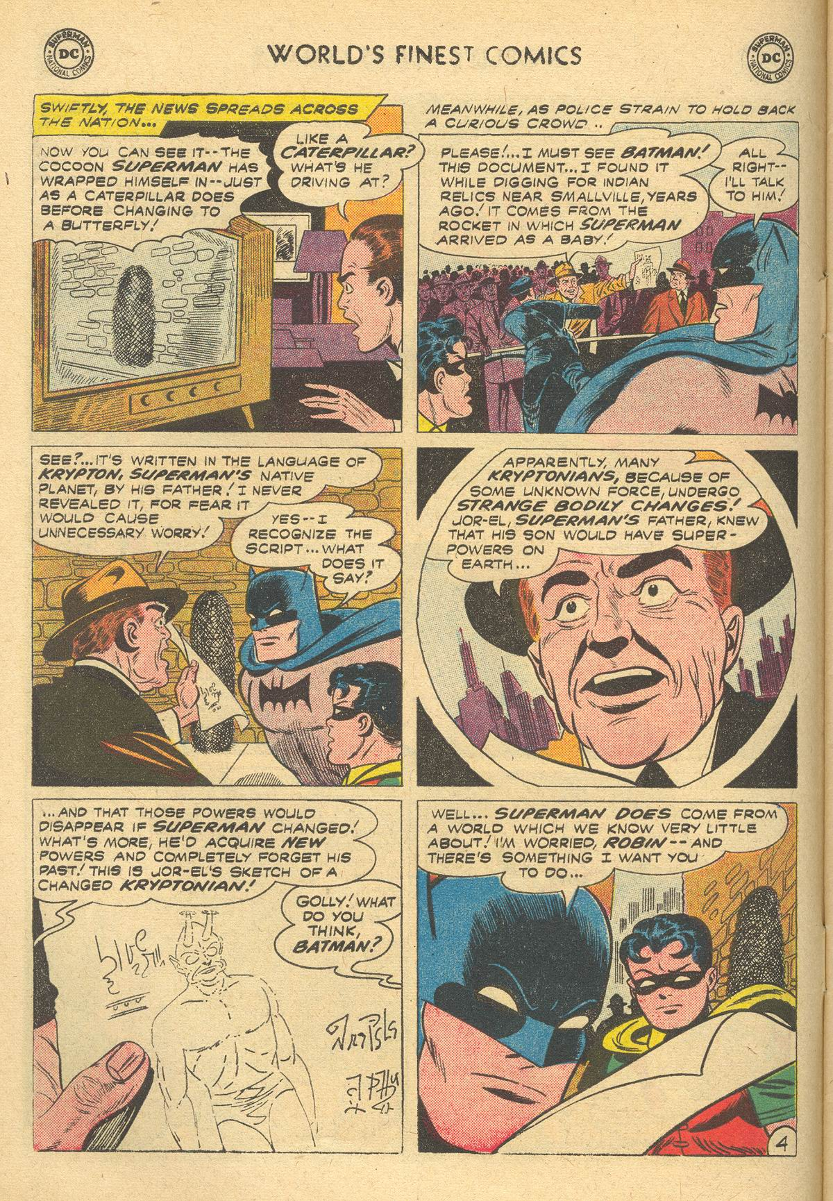 Read online World's Finest Comics comic -  Issue #105 - 6