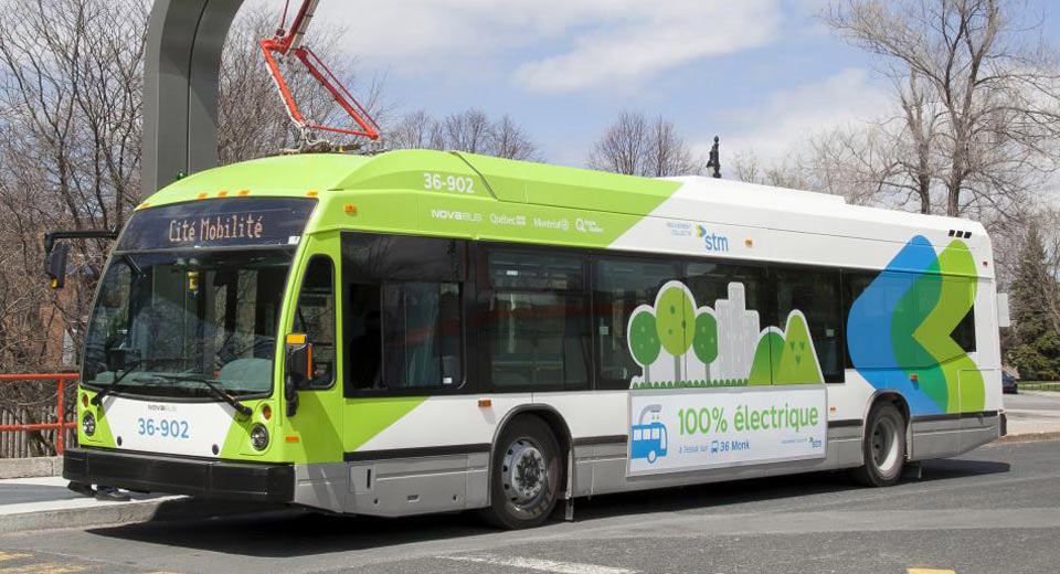 Electric Buses Are Coming To Montreal