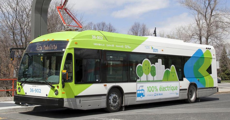 electric buses are coming to montreal. Black Bedroom Furniture Sets. Home Design Ideas