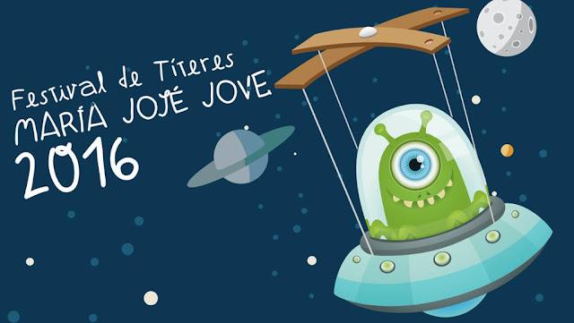 Festival de Títeres Mª José Jove 2016, títeres, niños, ocio, familia