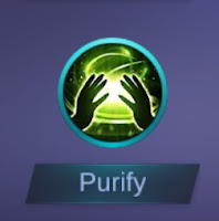 spell mobile legend purify