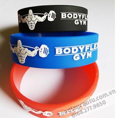 Vòng tay cao su Gym BodyFlex