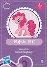 MLP Wave 3 Pinkie Pie Blind Bag Card
