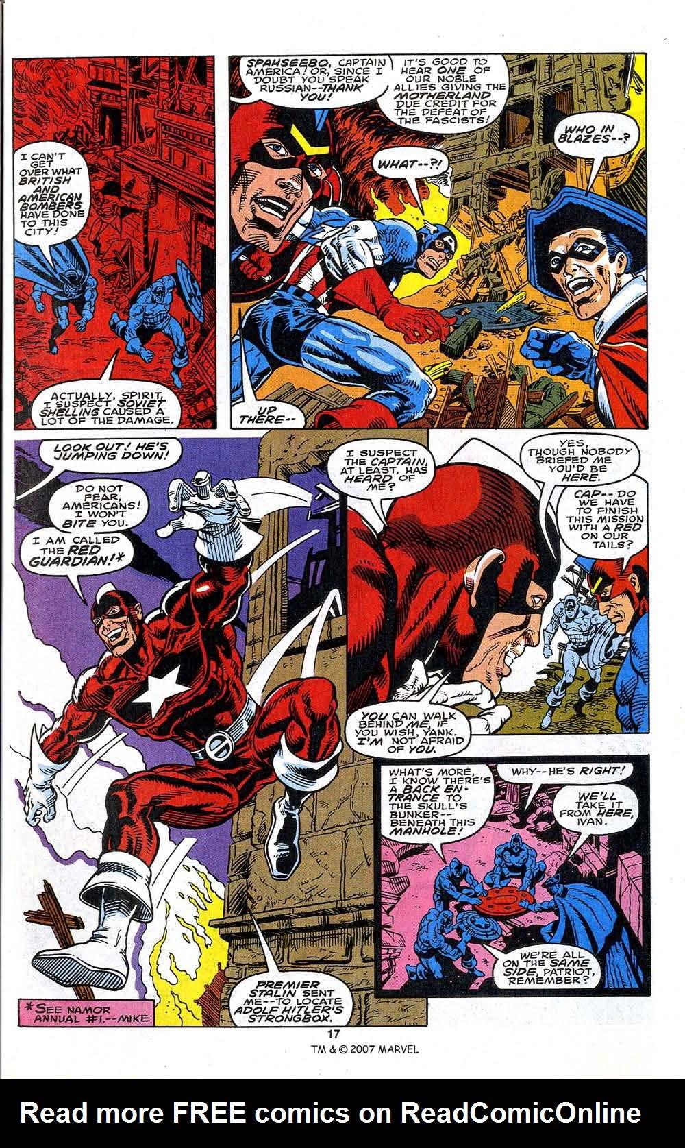 Read online Captain America (1968) comic -  Issue # _Annual 13 - 19