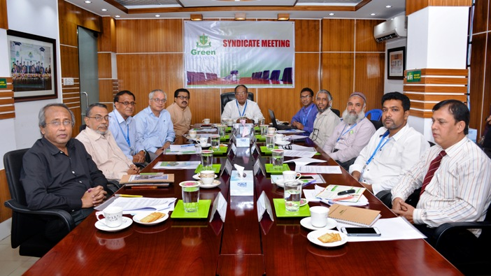 Green University Syndicate Meeting held