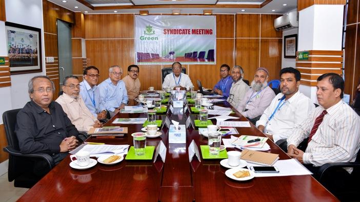 Green University Syndicate Meeting held