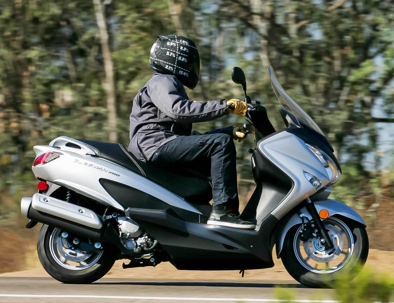 Big Skuter Matic Suzuki nantinya akan menggunakan mesin DOHC turunan GSX-R150 ?