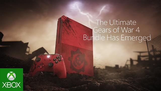 Microsoft nos muestra el unboxing de la Xbox One S Gears 4 edition