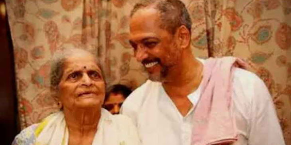 nana patekar mother nirmala patekar