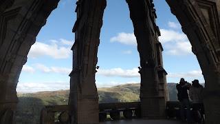 A torony csúcsának oszlopai Stirling-ben