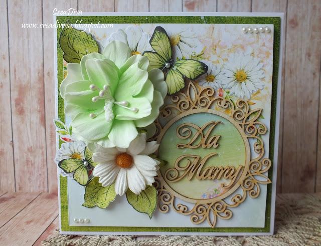 Jeszcze jedna dla mamy / One more card for mum