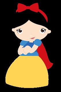 Clipart de Blancanieves Bebé.