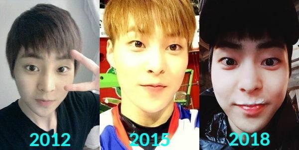 Netizen Ini Buktikan Xiumin EXO Tetap Awet Muda Sejak Debut
