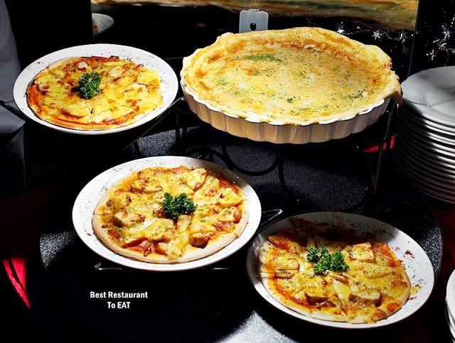 Wild Rice Restaurant Christmas 2019 Menu - Assorted Pizzas & Pies Selection