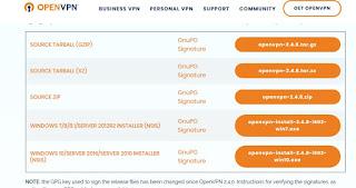 configurare OpenVPN