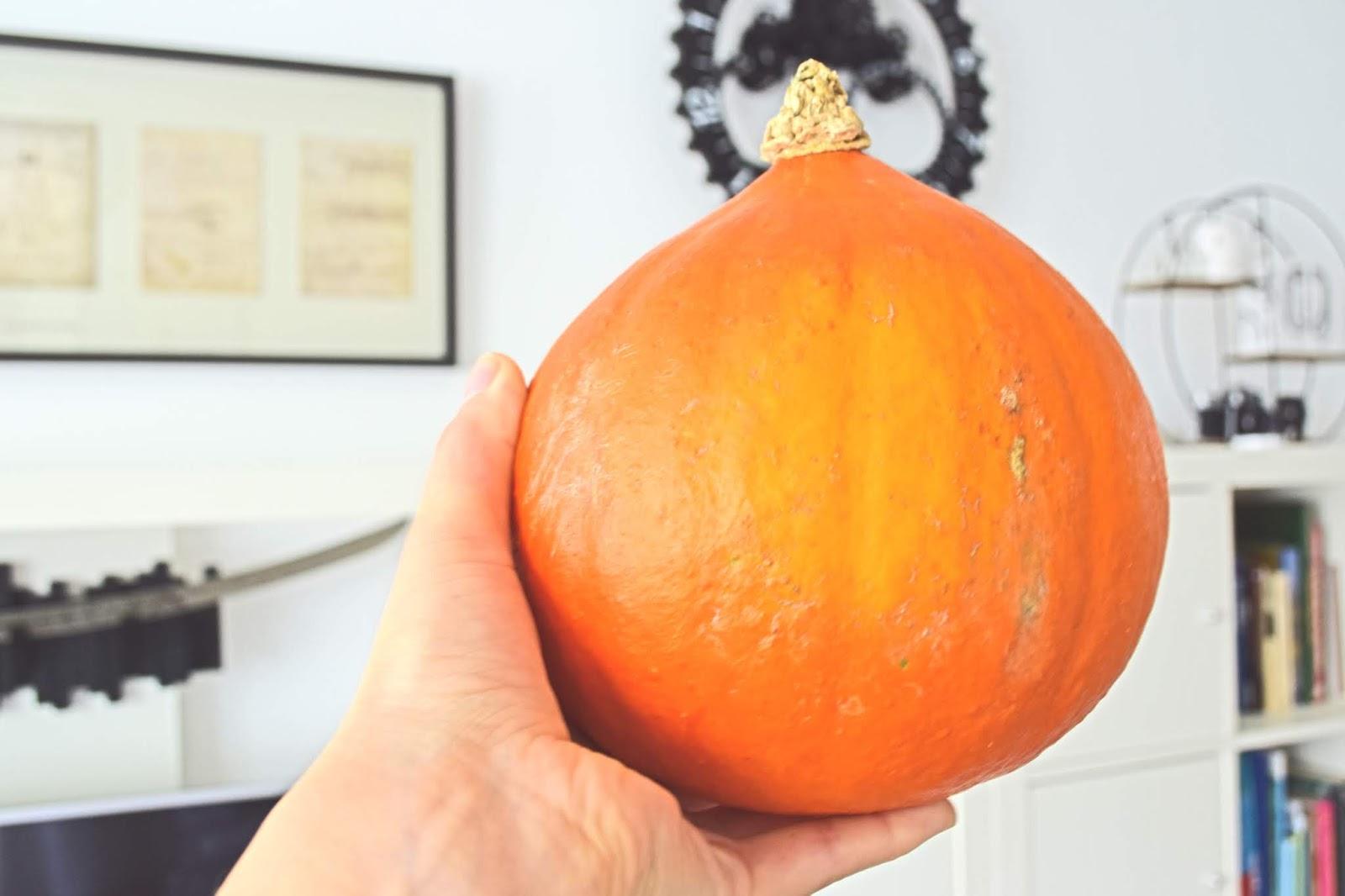 Dynia w kolorze pomarańczowym