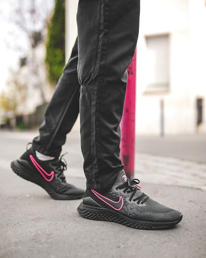 x PSG Epic Shoes Black Pink Nike React 2 Revealed Flyknit drCoxBeW