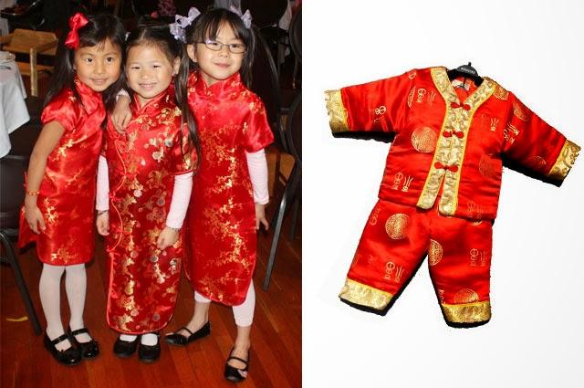 Model Baju Anak Cina Cheongsam Lucu Unik Terbaru