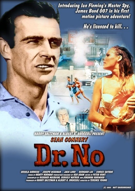 Image result for DR NO POSTER