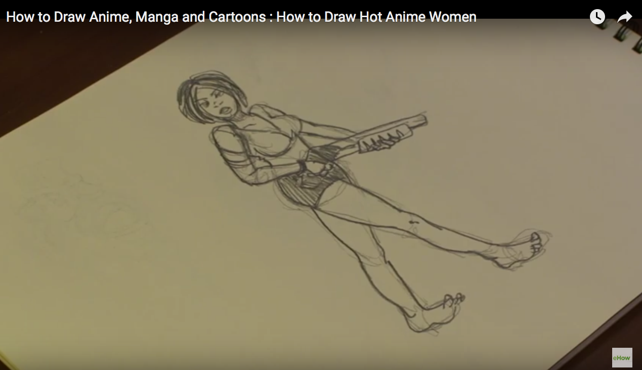 3 Need To Draw Women In Feminine Poses To Make Sure People Know Its A  Women You Are Drawing (???) How To Draw Anime