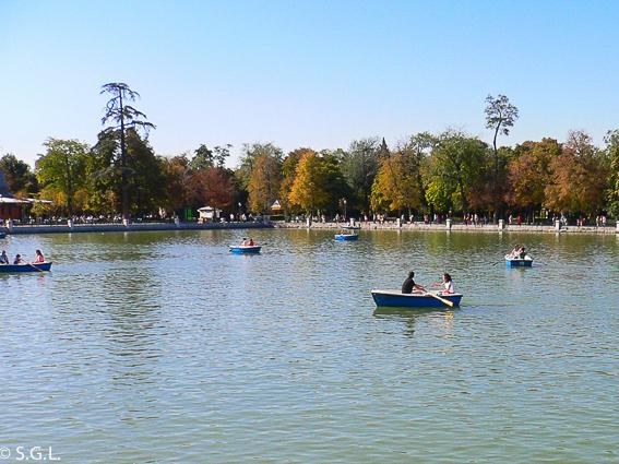 El parque del Retiro. Ruta lowcost por Madrid