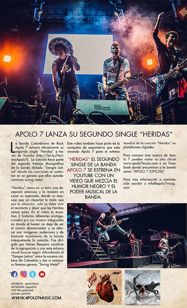 banda-Colombiana-Apolo7-lanza-Heridas