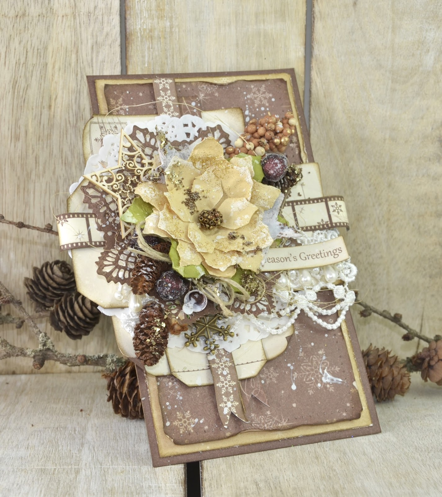 Live & Love Crafts' Inspiration and Challenge Blog: Season's Greetings ...