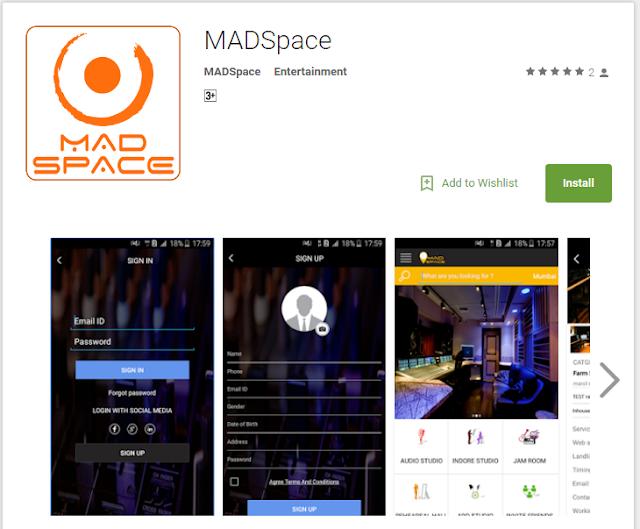 entertainment app builder