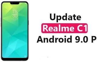 Cara Upgrade Android 9.0 Pie di Realme C1