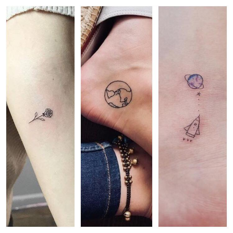tiny tattoos czyli minimalistyczne cuda na ciele