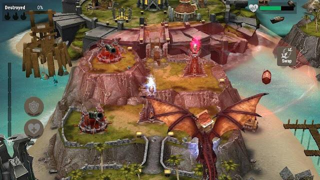 War Dragons Apk + Mod Apk + OBB Data Full Version