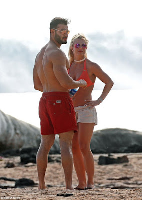 Britney Spears, 36, steps out in Hawaii with her 23 year old Iranian, boyfriend (photos)