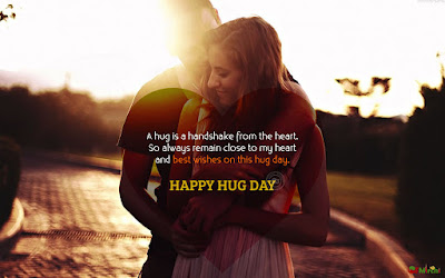 Hug day Wishes quotes images in english