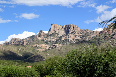 Pusch Ridge in the western Catalina Mountains, Tucson AZ