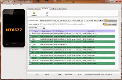 Download Spflashtool V5 Terbaru 100% tested untuk Flashing Semua HP MTK