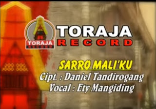 Lirik Lagu Toraja Sarro Mali'ku (Ety Mangiding)