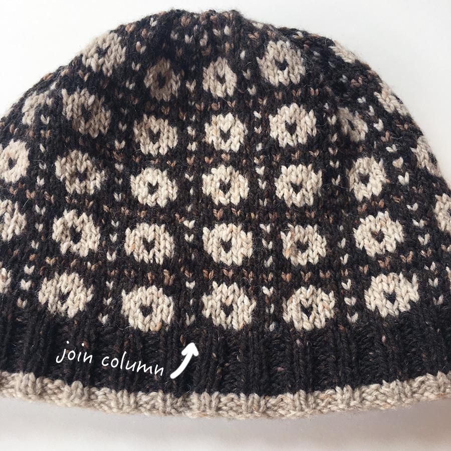 Wilkie Hat in Rowan Cashmere Tweed by Martin Storey, knit by Dayana Knits