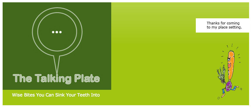 The Talking Plate