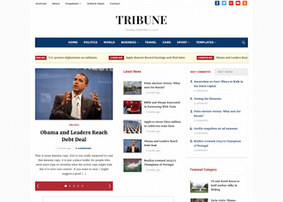 Tribune 4.0 Magazine / Newspaper WordPress Theme - WPZOOM Free Download