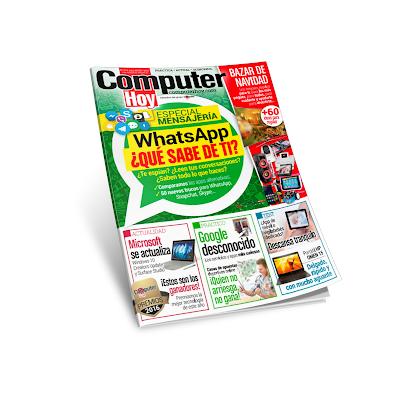 Computer Hoy 474  - Whats App ¿Qué sabe de ti?
