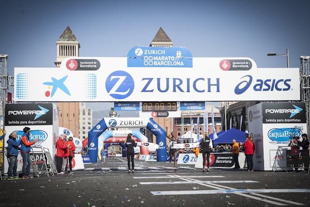 Dino Sefir ganadora de la Zurich Marató Barcelona 2016