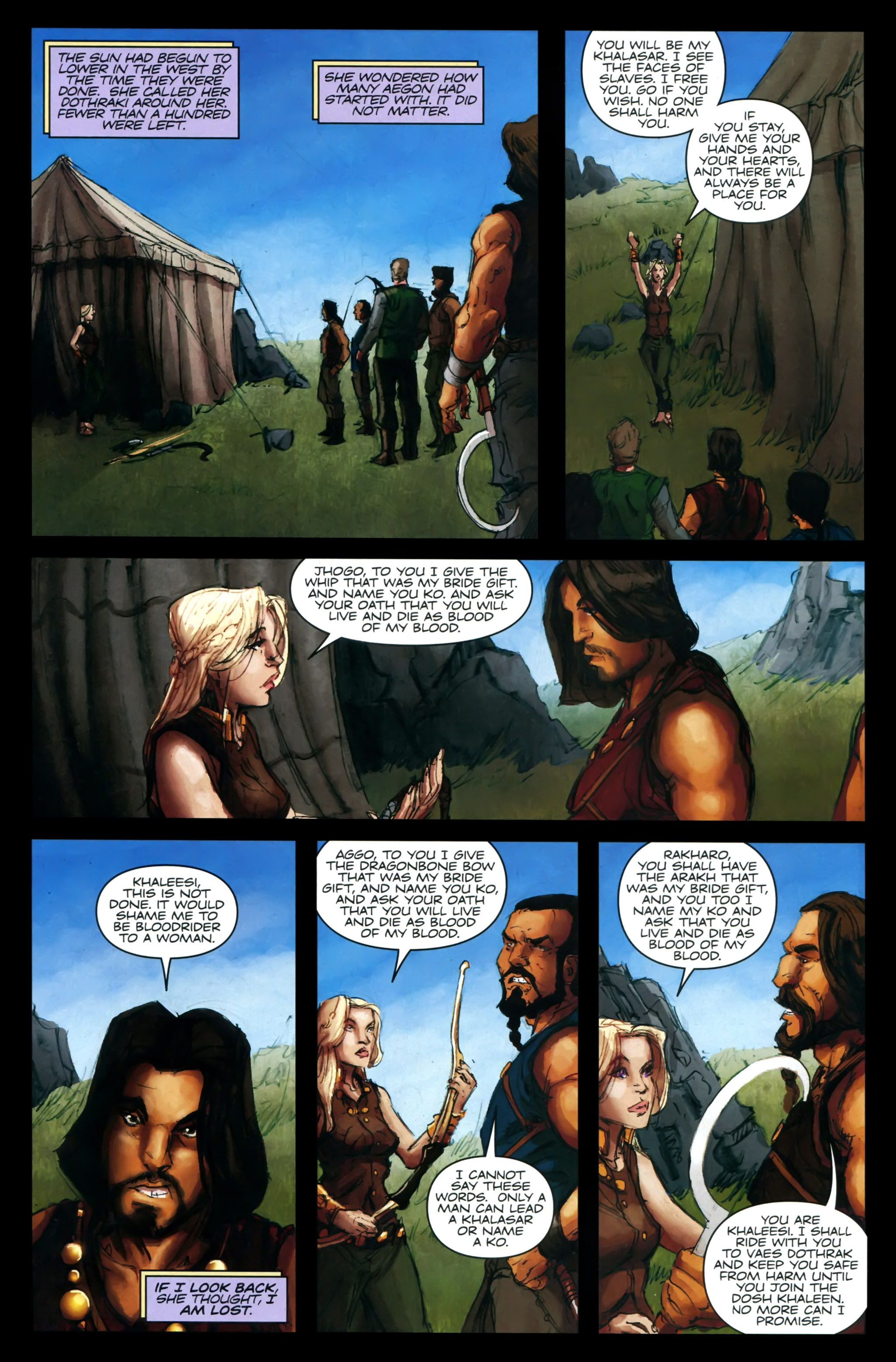 Read online A Game Of Thrones comic -  Issue #24 - 24