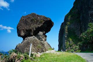 蘭嶼 鋼盔岩
