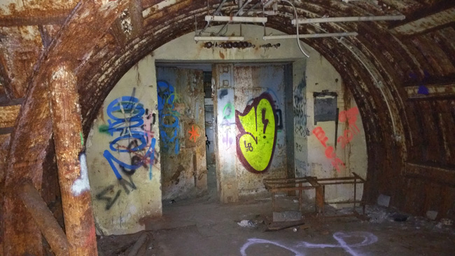 Urban exploration of abandoned Titan I ICBM Nuclear Missile Silo Launch Complex in Deer Trail, Colorado