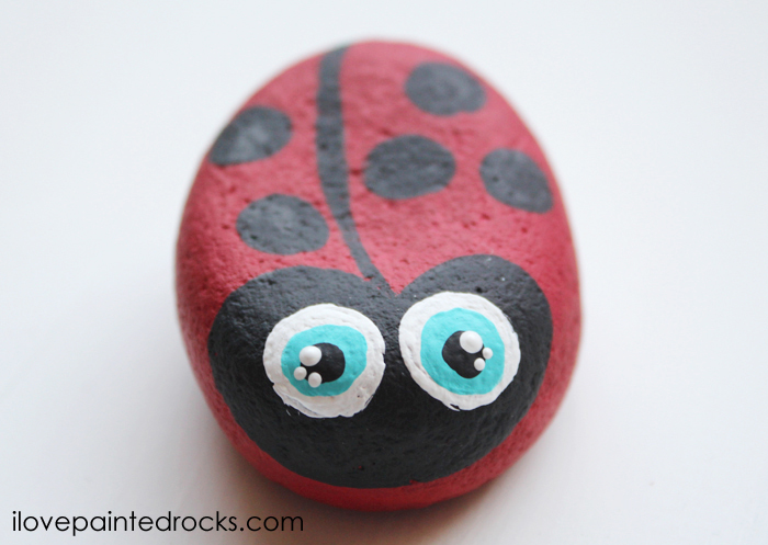 best ladybug rock painting ideas