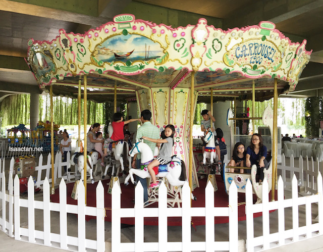 Lovely Merry Go Round to entertain the kids