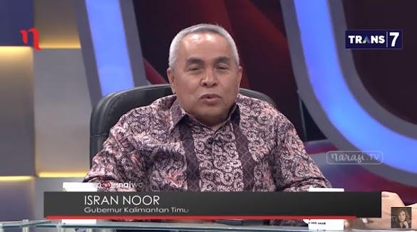 Bela Tauhid, Ini Pernyataan Tegas Gubernur Kaltim Saat di Mata Najwa