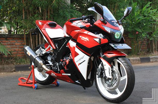 modifikasi cbr 150 thailand2  terbaru