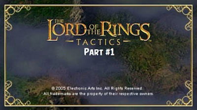 Download The Lord of The Rings Tactics ISO/CSO Save Data PSP PPSSPP High Compress