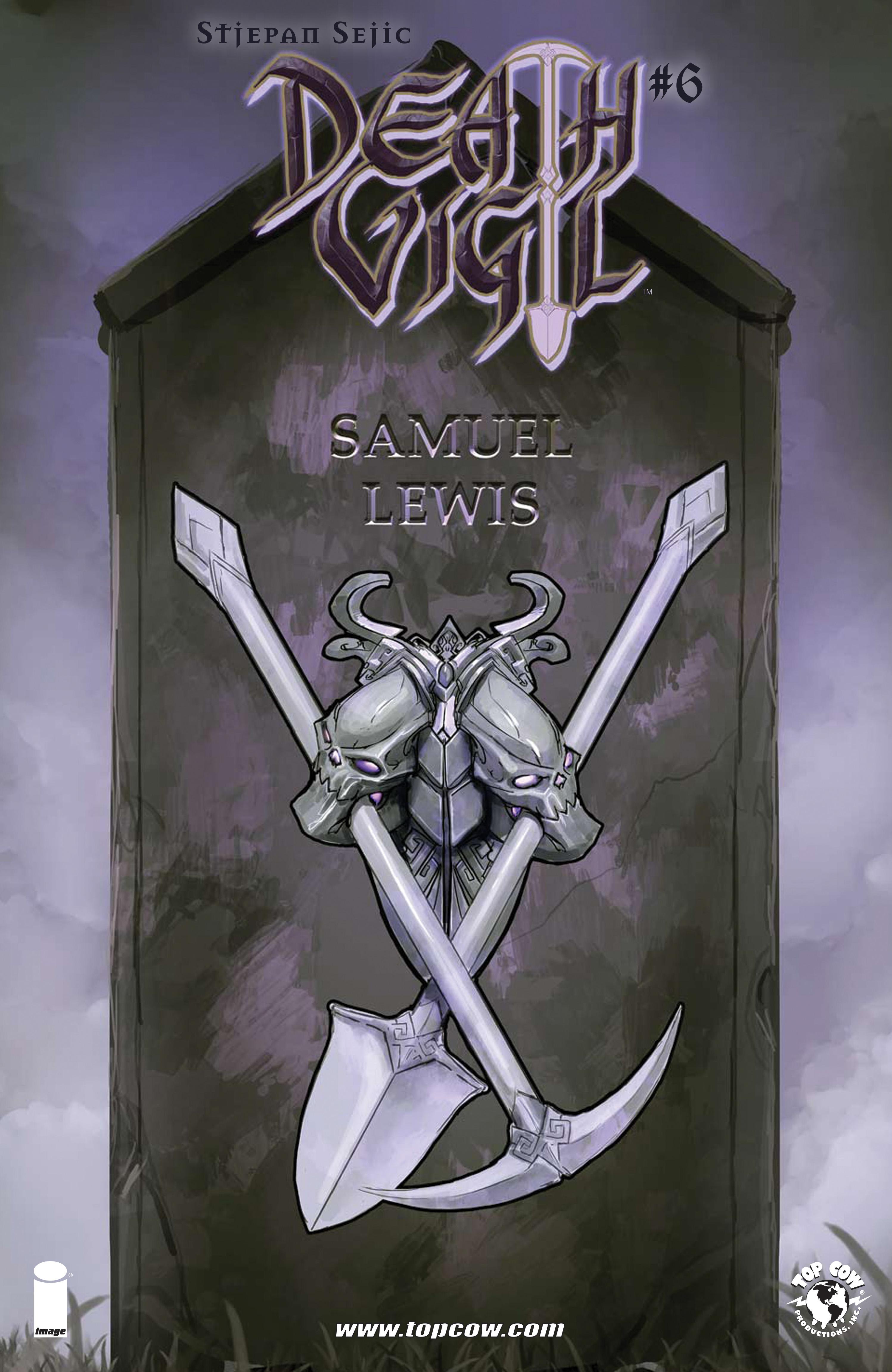Death Vigil issue 6 - Page 1